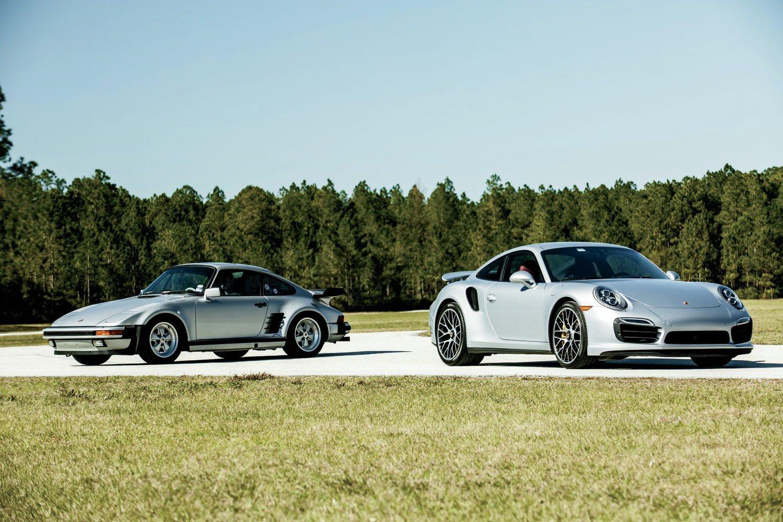 1988 Porsche 911 Turbo With 2014 Porsche 911 Turbo2