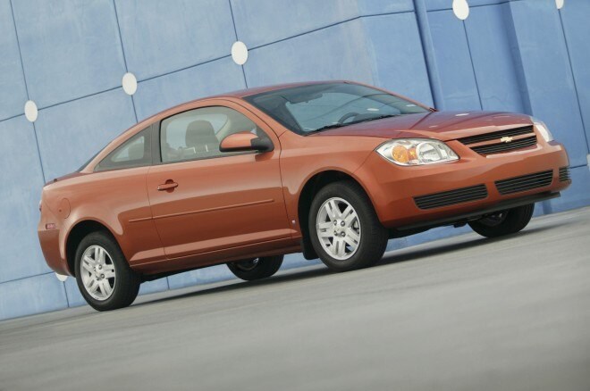 2007 Chevrolet Cobalt Coupe Front Side View4 660x438