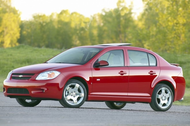 2007 Chevrolet Cobalt Sedan Front View1 660x438