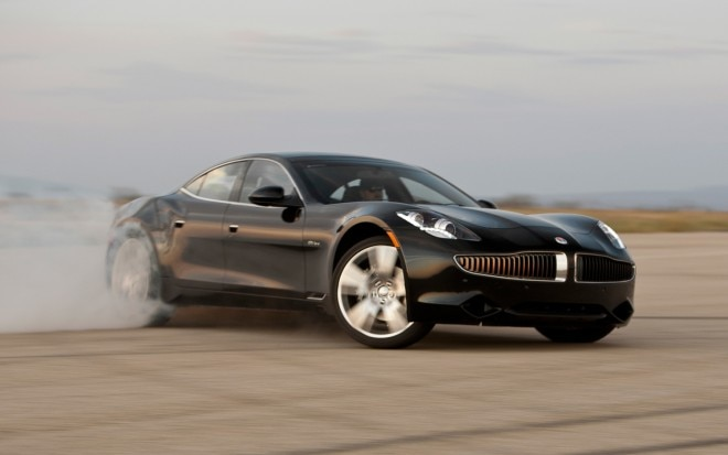 2012 Fisker Karma Pre Production Front Three Quarter Drift1 660x413