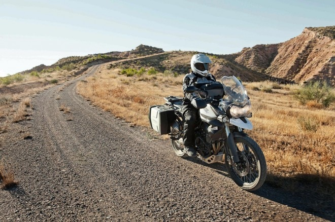 2013 Triumph Tiger 800XC Riding 660x438