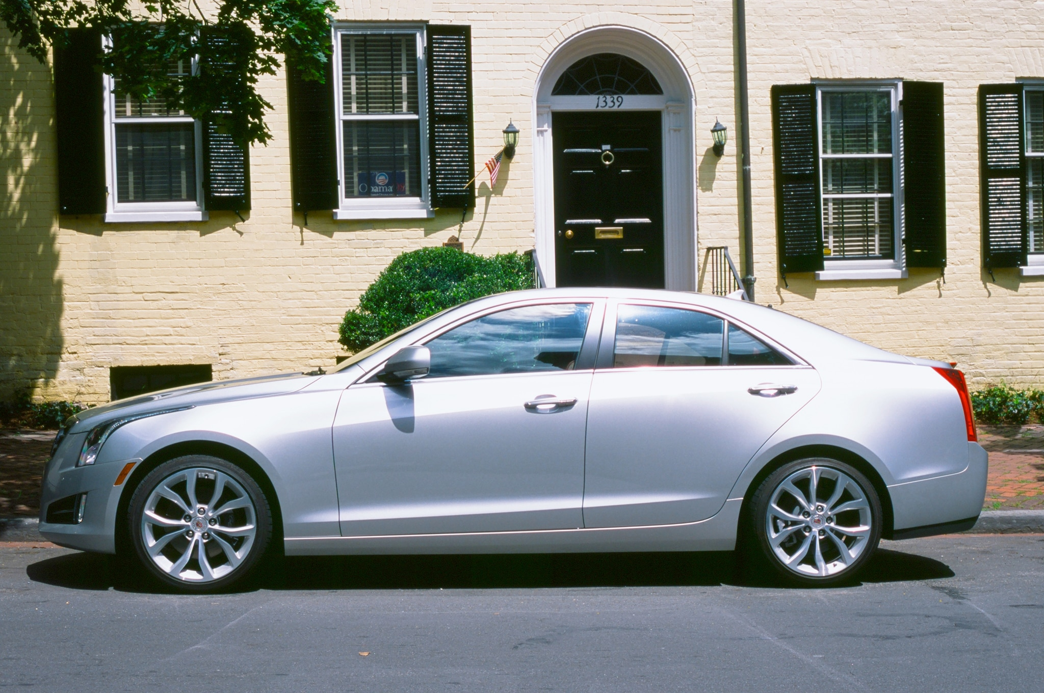 2013 cadillac ats four seasons update april 2014. Black Bedroom Furniture Sets. Home Design Ideas