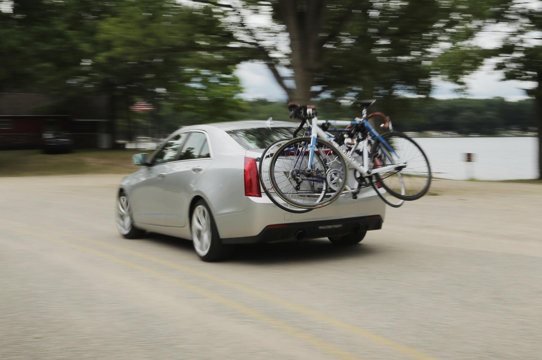 2013 Cadillac Ats Rear Three Quarter Motion Bike Rack1