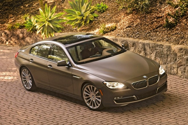 2014 BMW 6 Series Gran Coupe Three Quarters View 41 660x440