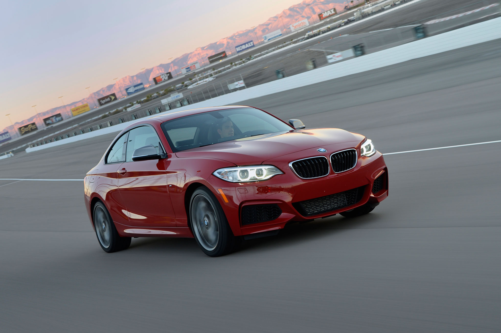 2014 BMW M235i Front Three Quarters In Motion1