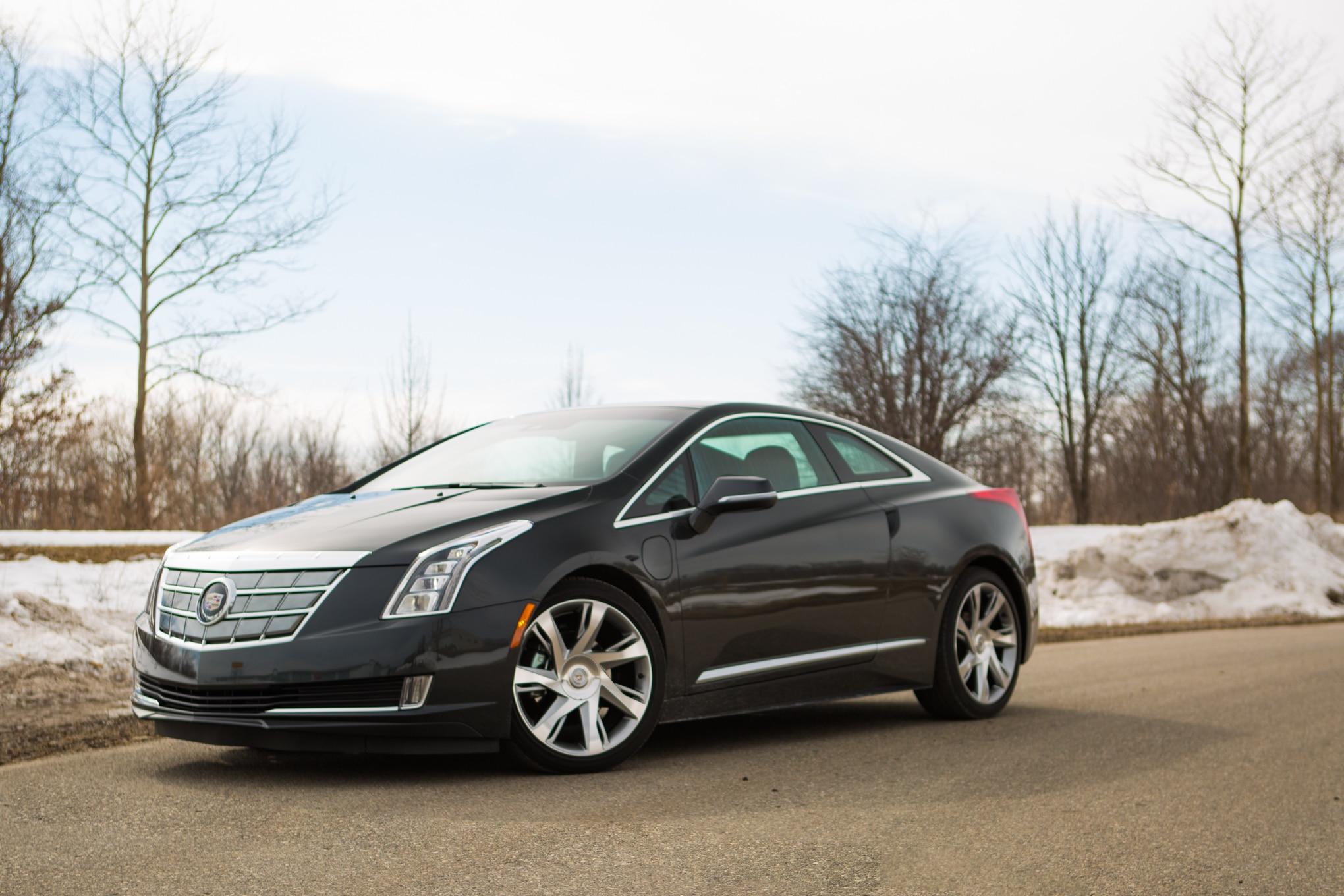 2014 Cadillac ELR Front Three Quarters