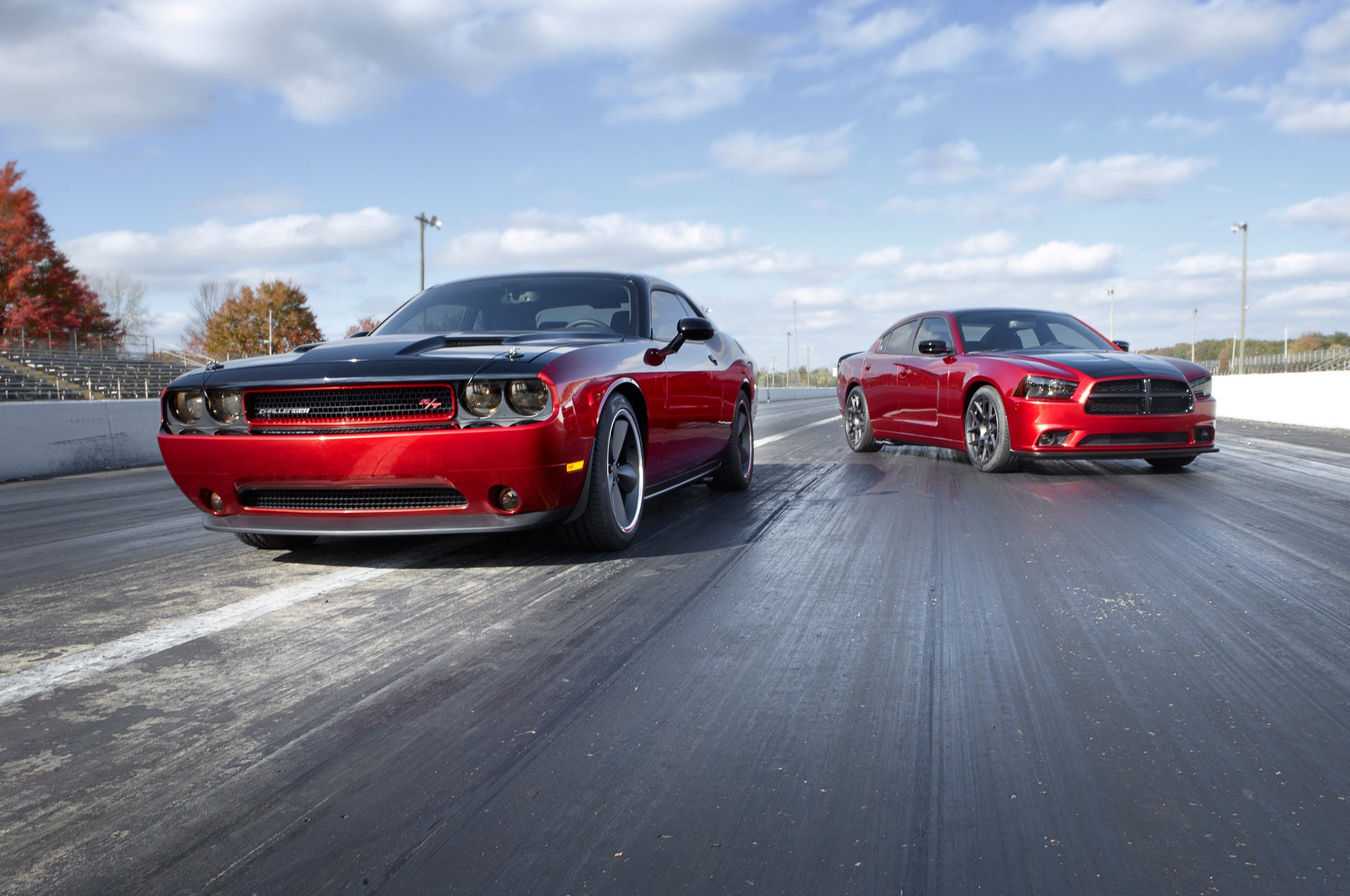 2014 Dodge Challenger And Charger With Scat Pack 31