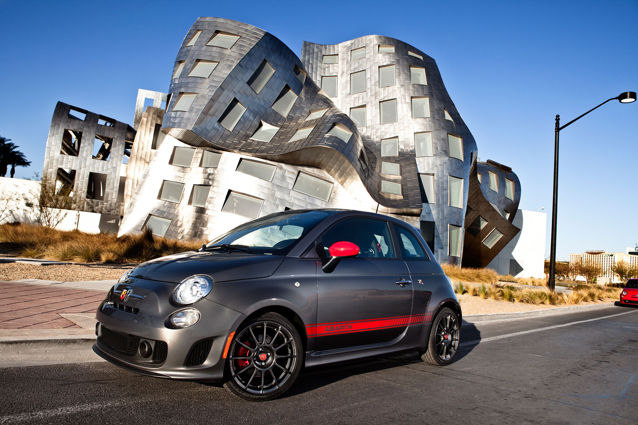 2014 Fiat 500 Abarth Drivers Side View1