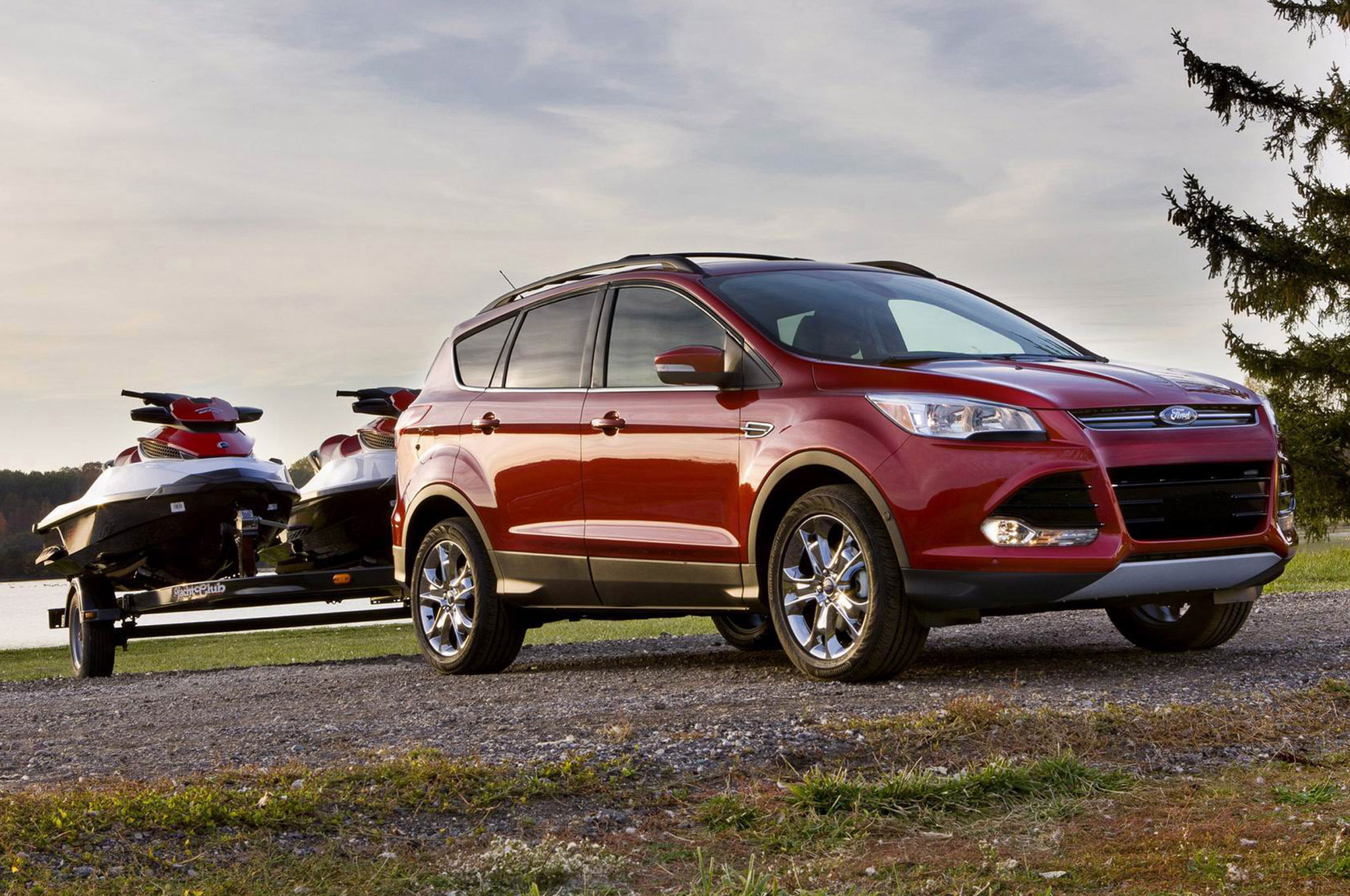 2014 Ford Escape Front Right Side