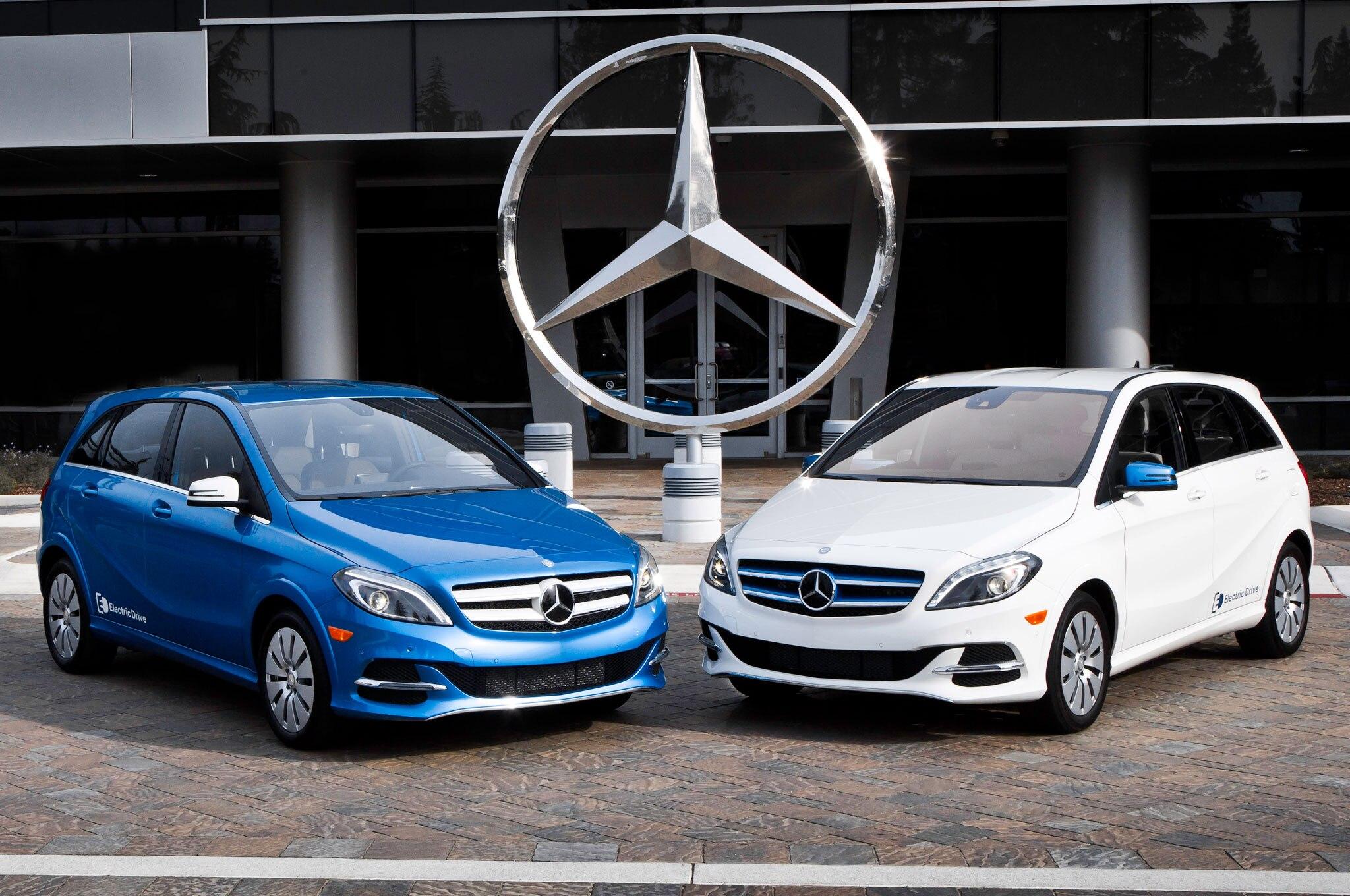 Mercedes Roadside Assistance >> 2014 Mercedes-Benz B-Class Electric Drive Costs $42,375 ...