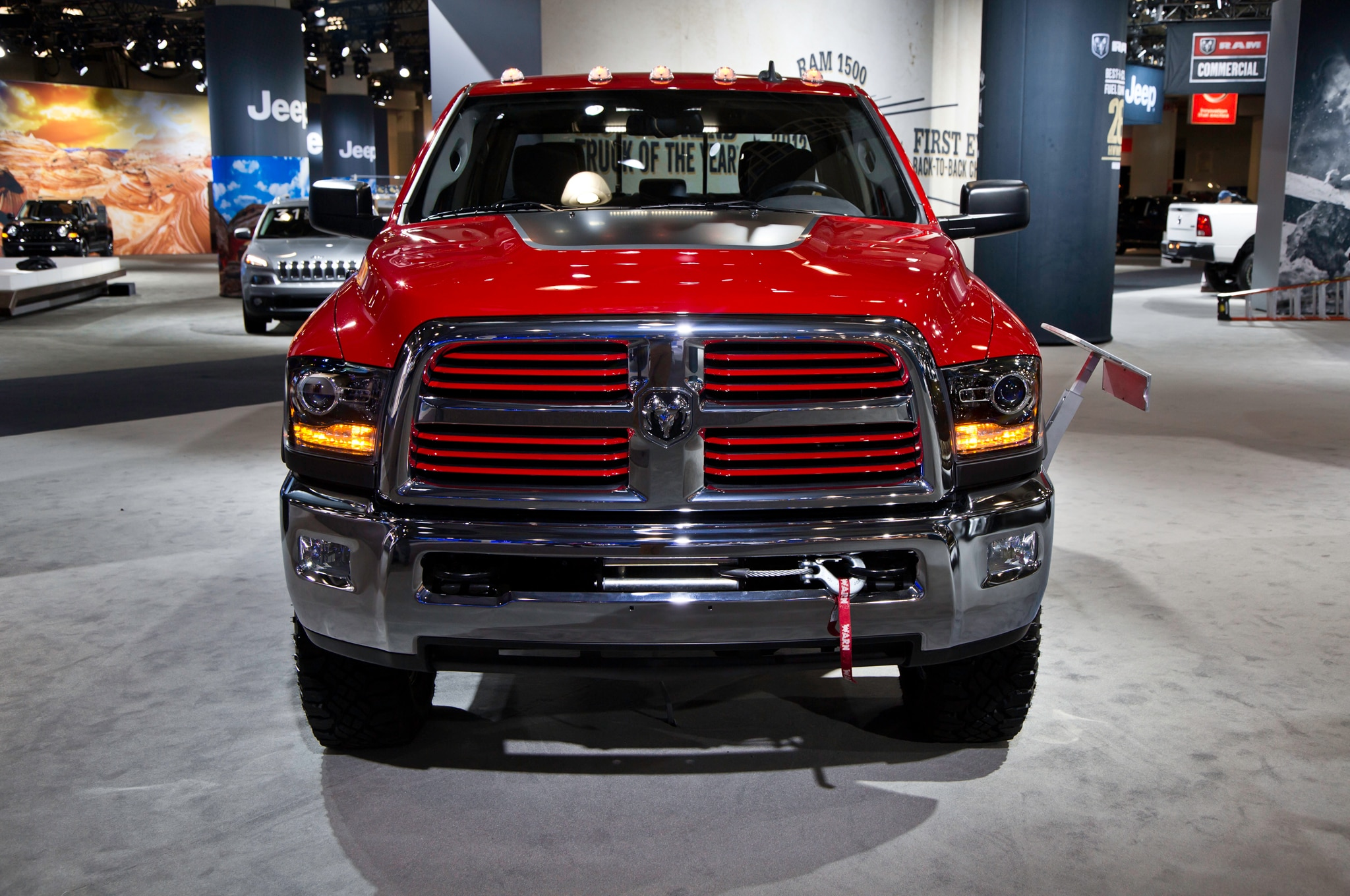 2014 ram power wagon gains more power capability automobile. Black Bedroom Furniture Sets. Home Design Ideas