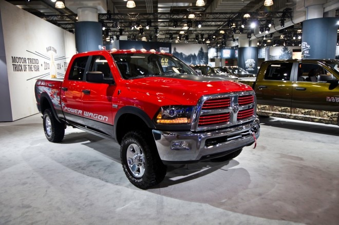 2014 Ram 2500 Power Wagon Front Three Quarters2 660x438