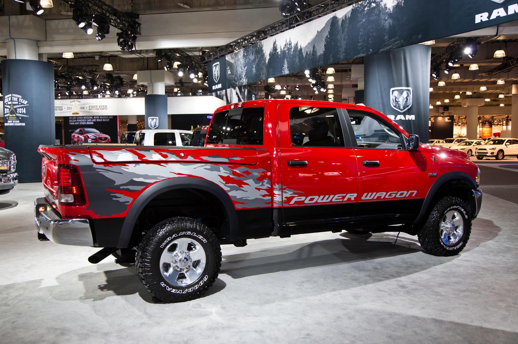 2014 ram power wagon gains more power capability automobile. Black Bedroom Furniture Sets. Home Design Ideas