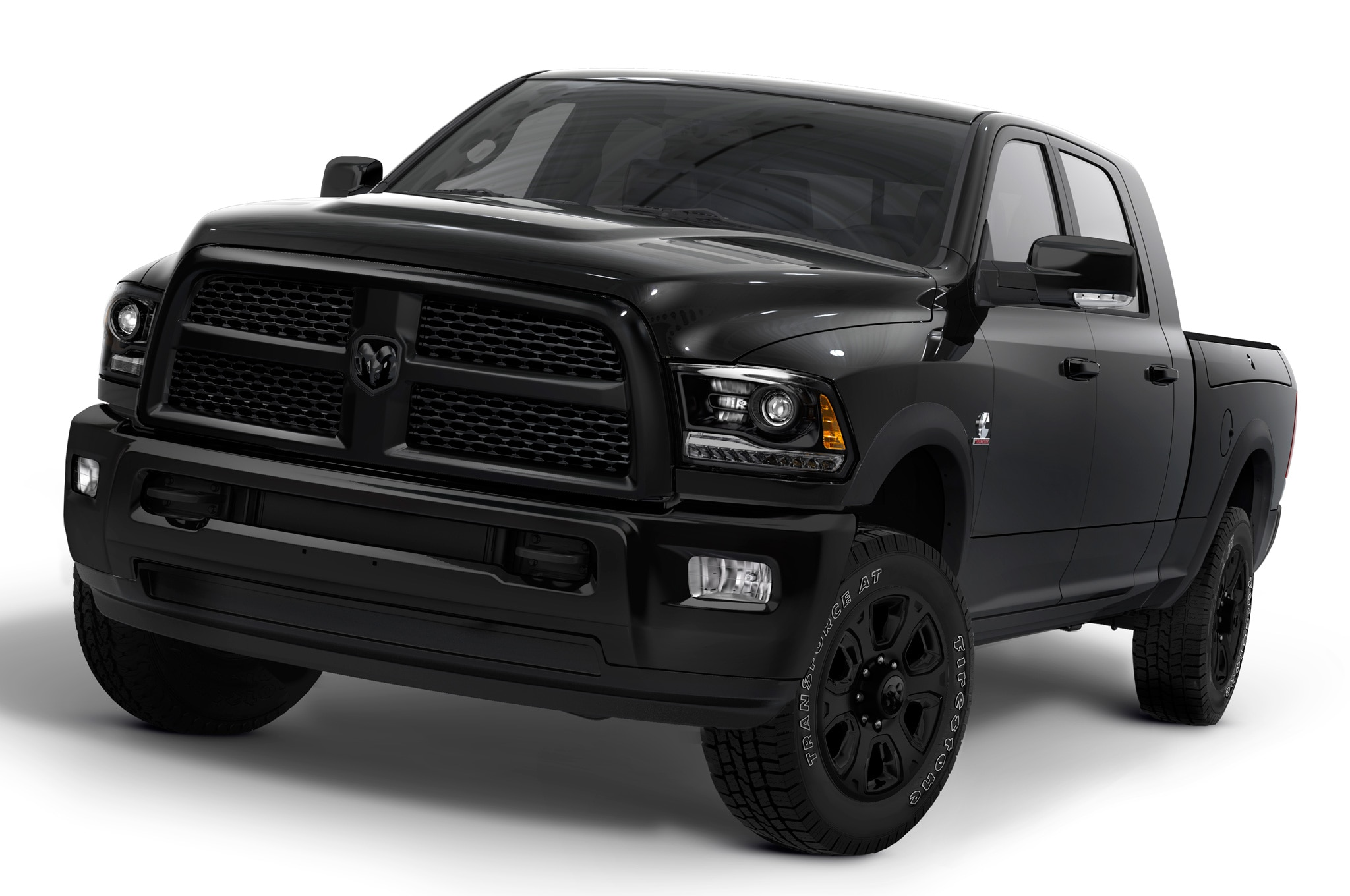 2014 Ram Heavy Duty Black Front View
