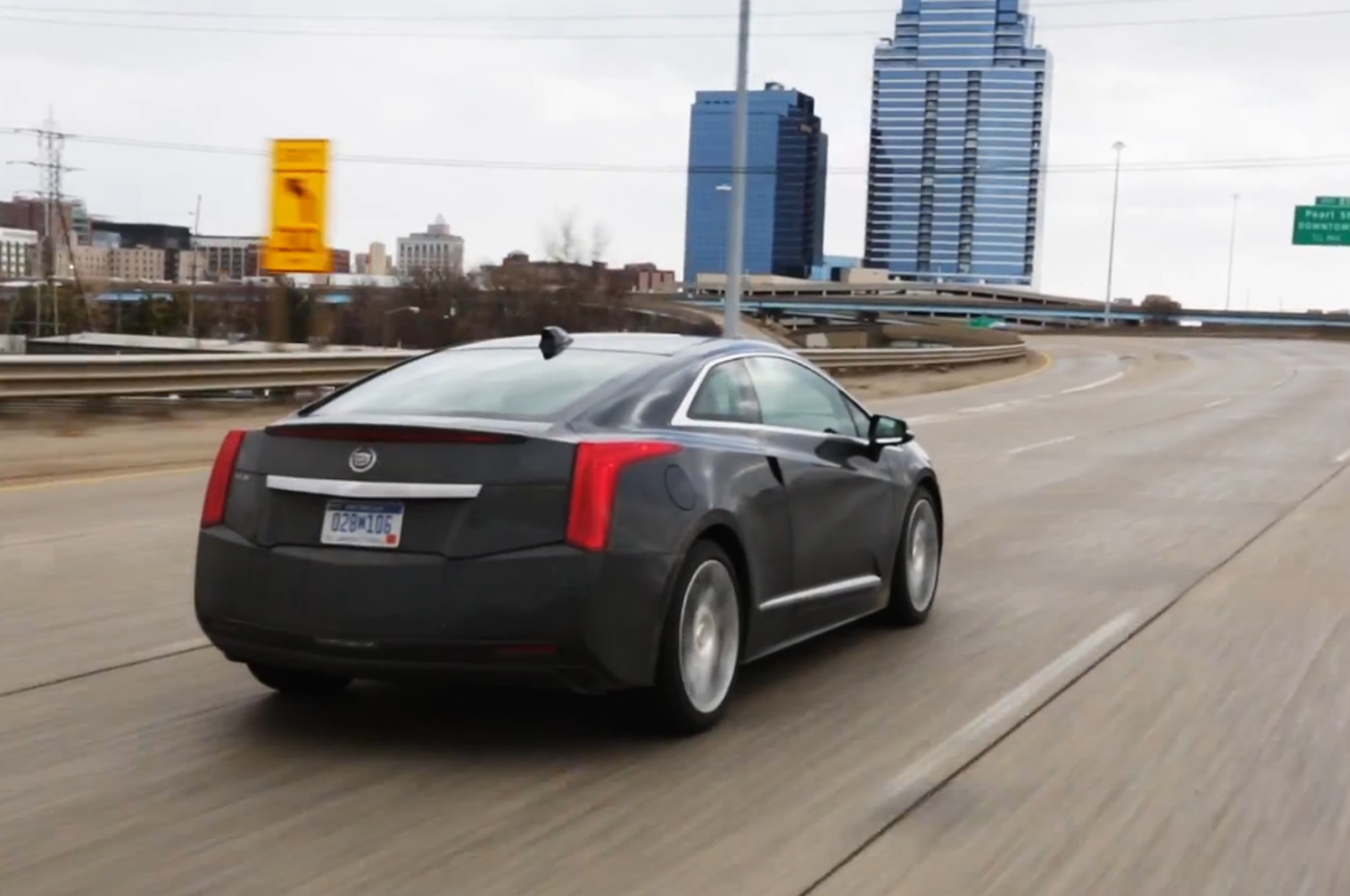 2014 Cadillac Elr Driven Video Rear Three Quarter