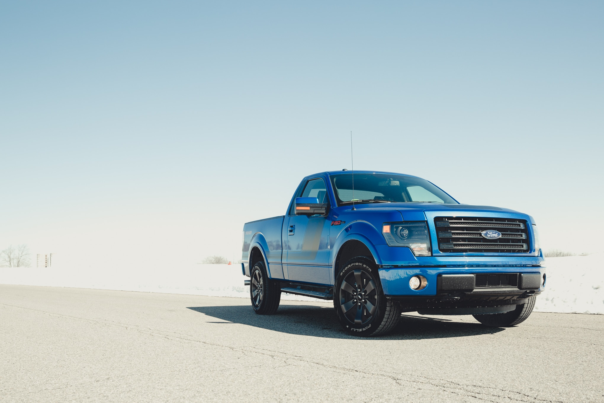 2014 Ford F 150 Tremor Front Three Quarters