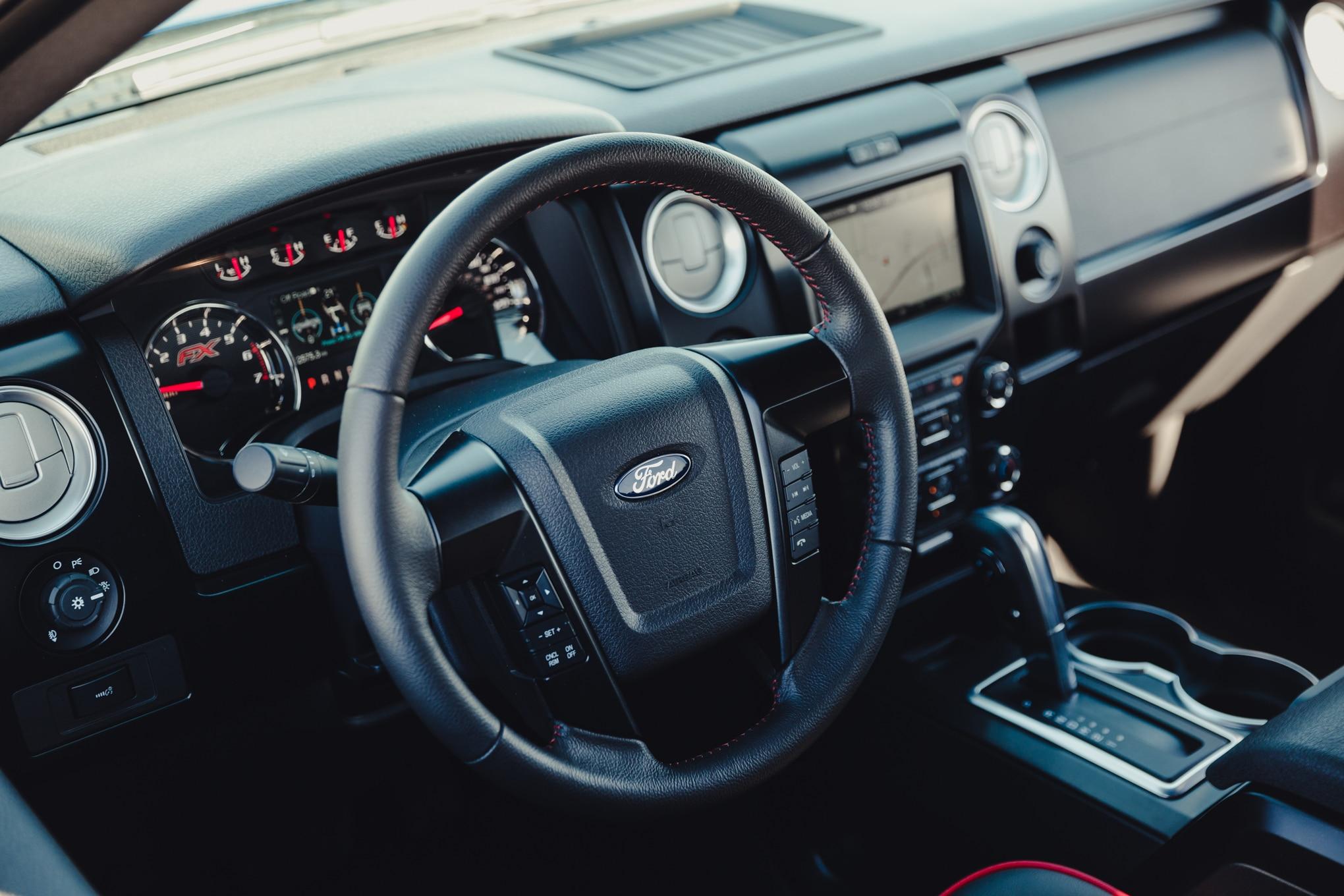 show more - 2014 Ford F150 Fx4 Interior