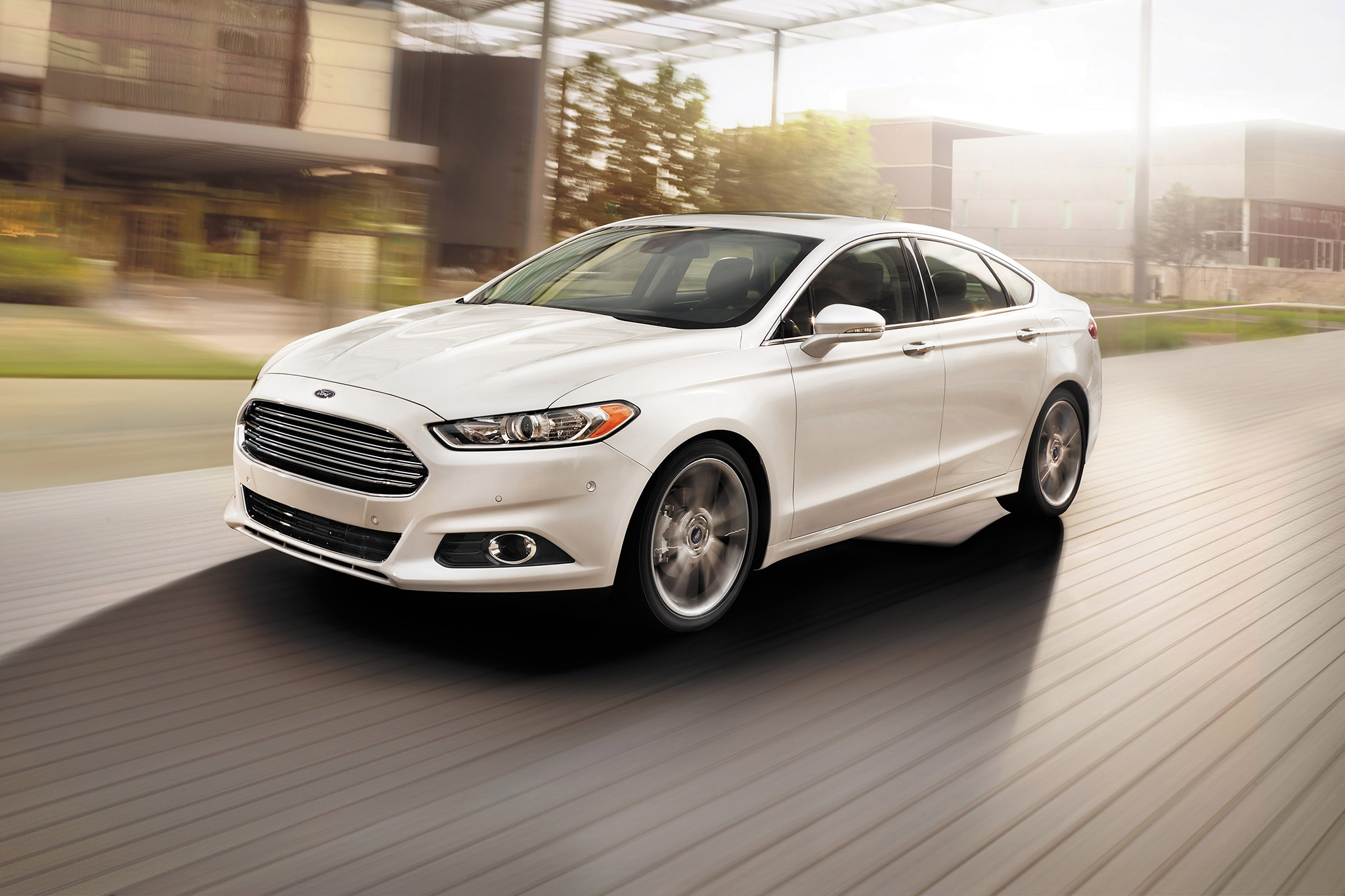 2014 Ford Fusion Three Quarters 11