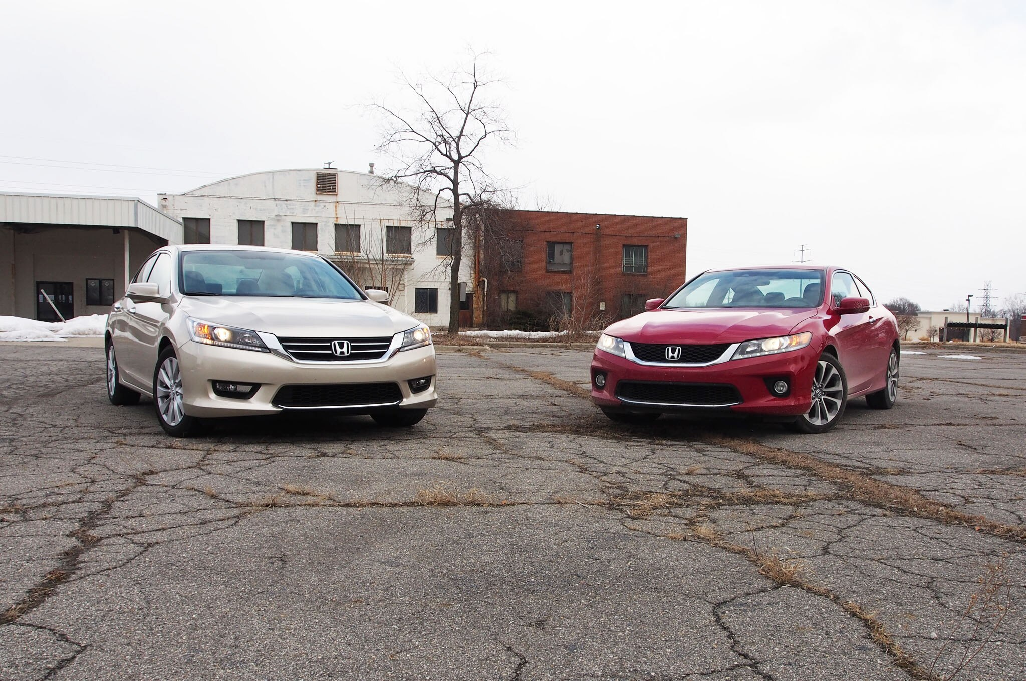 2014 Honda Accord Sedan And Coupe Front 11