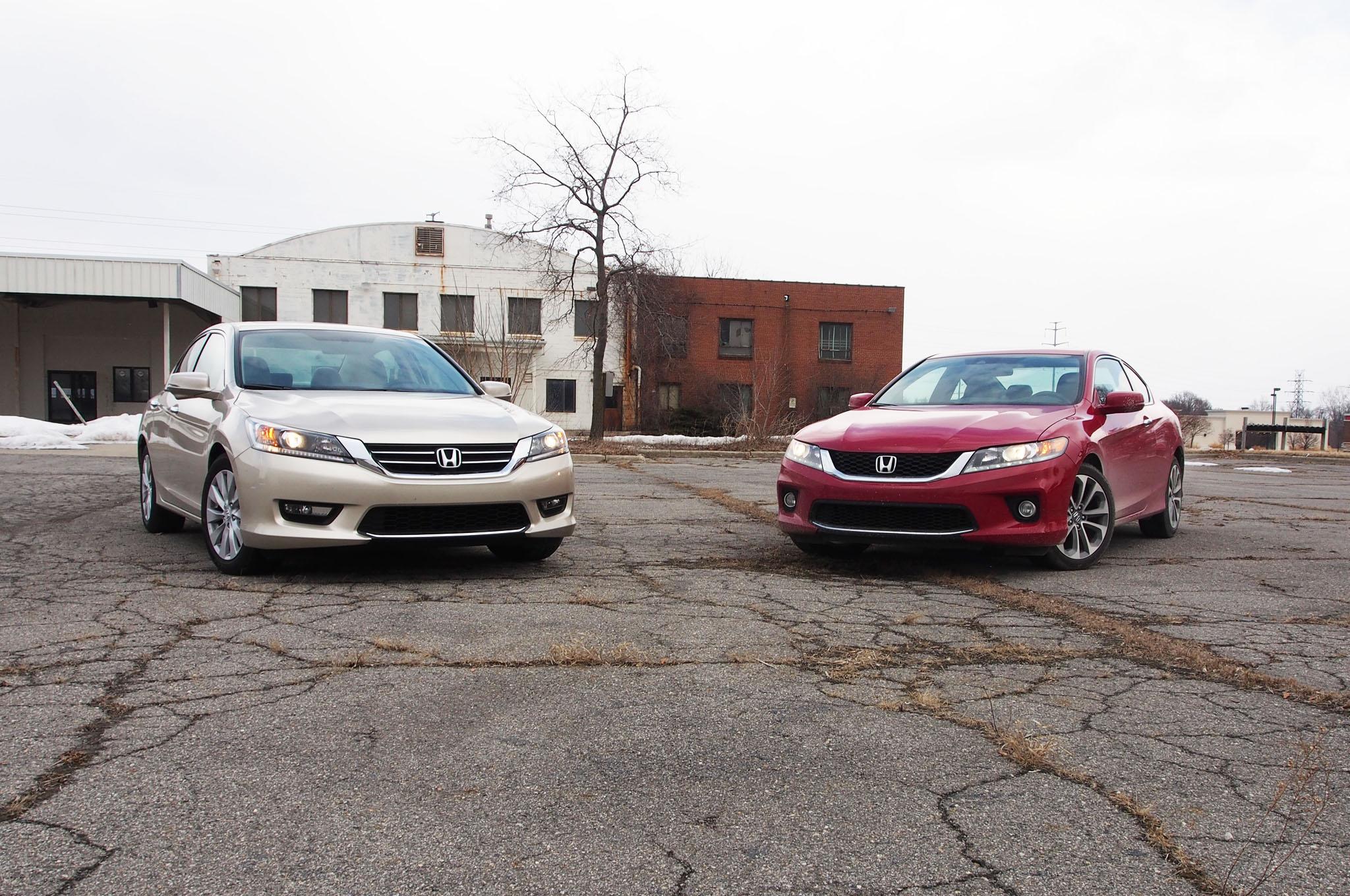 2014 Honda Accord Sedan And Coupe Front 11