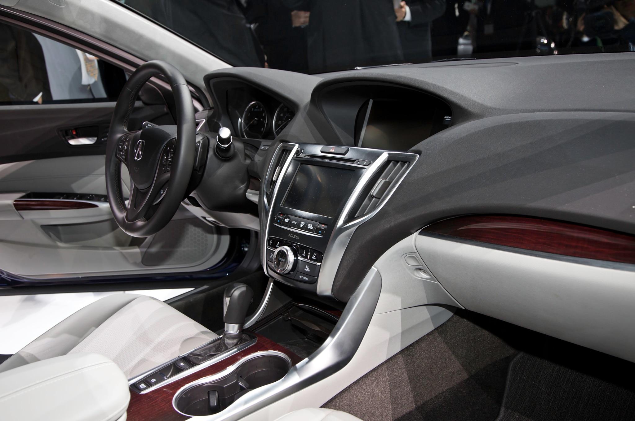 2015 acura tlx shown in new york automobile magazine