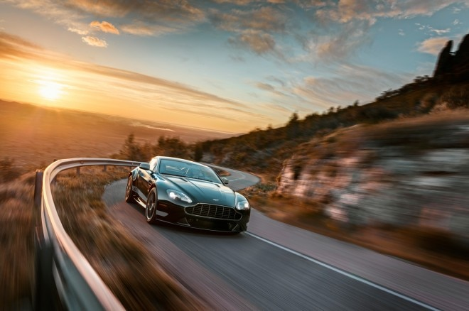2015 Aston Martin V8 Vantage GT Coupe Front End In Motion 021 660x438