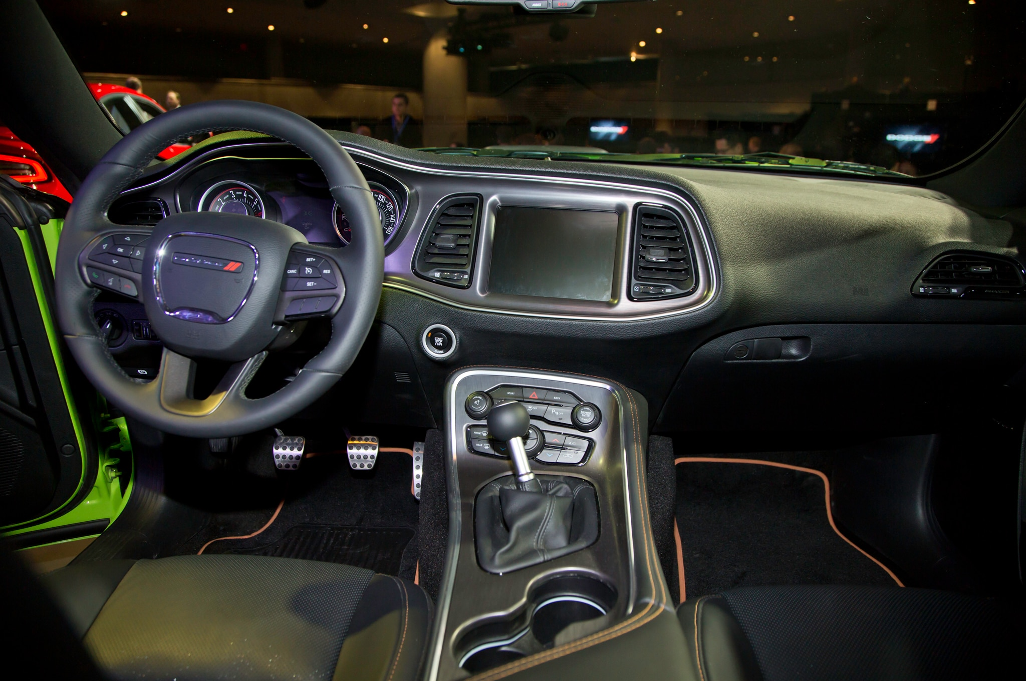 2015 dodge challenger premieres at new york show 2017 dodge challenger interior lights