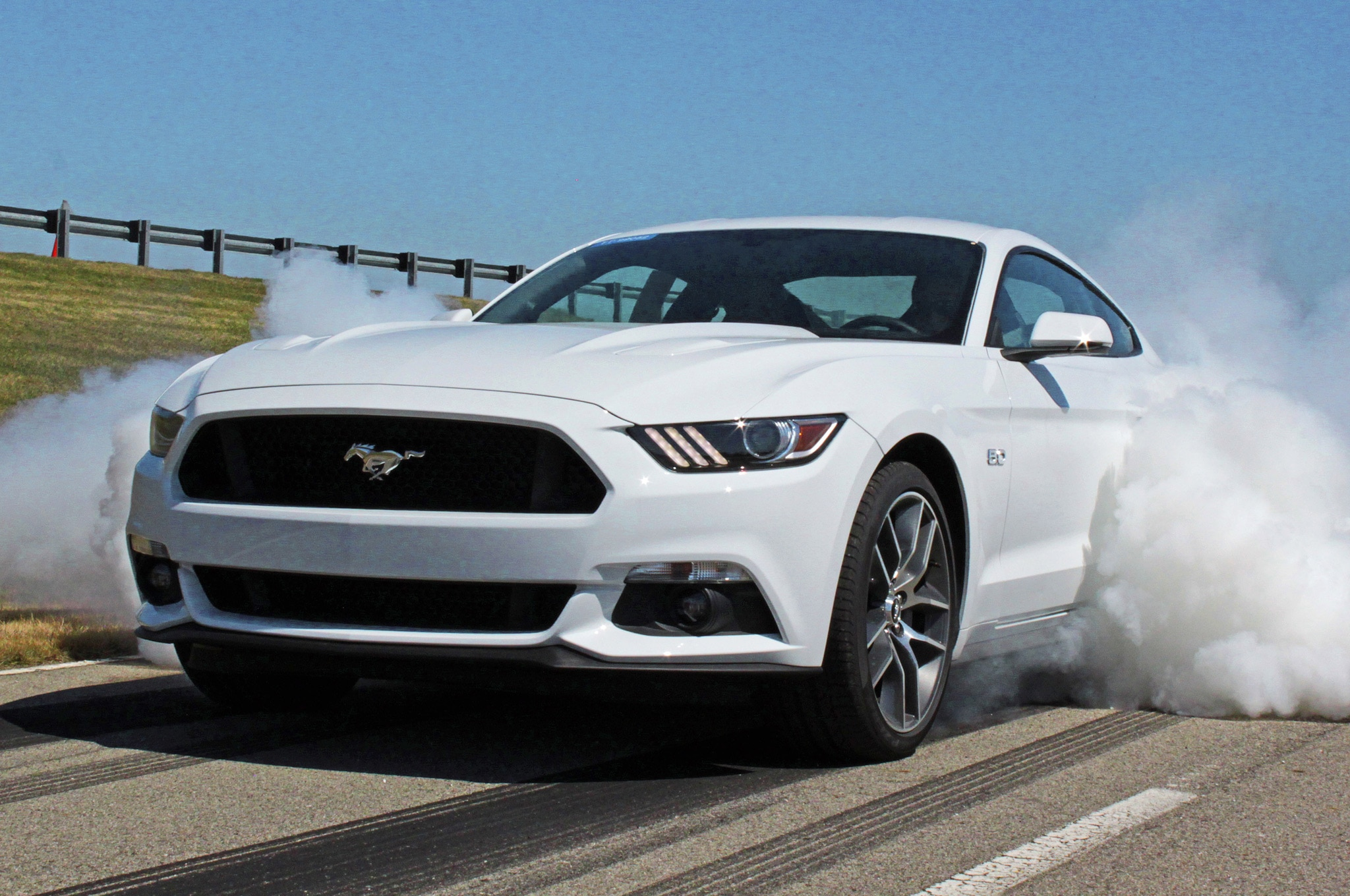 2015 Ford Mustang GT Line Lock Burnout