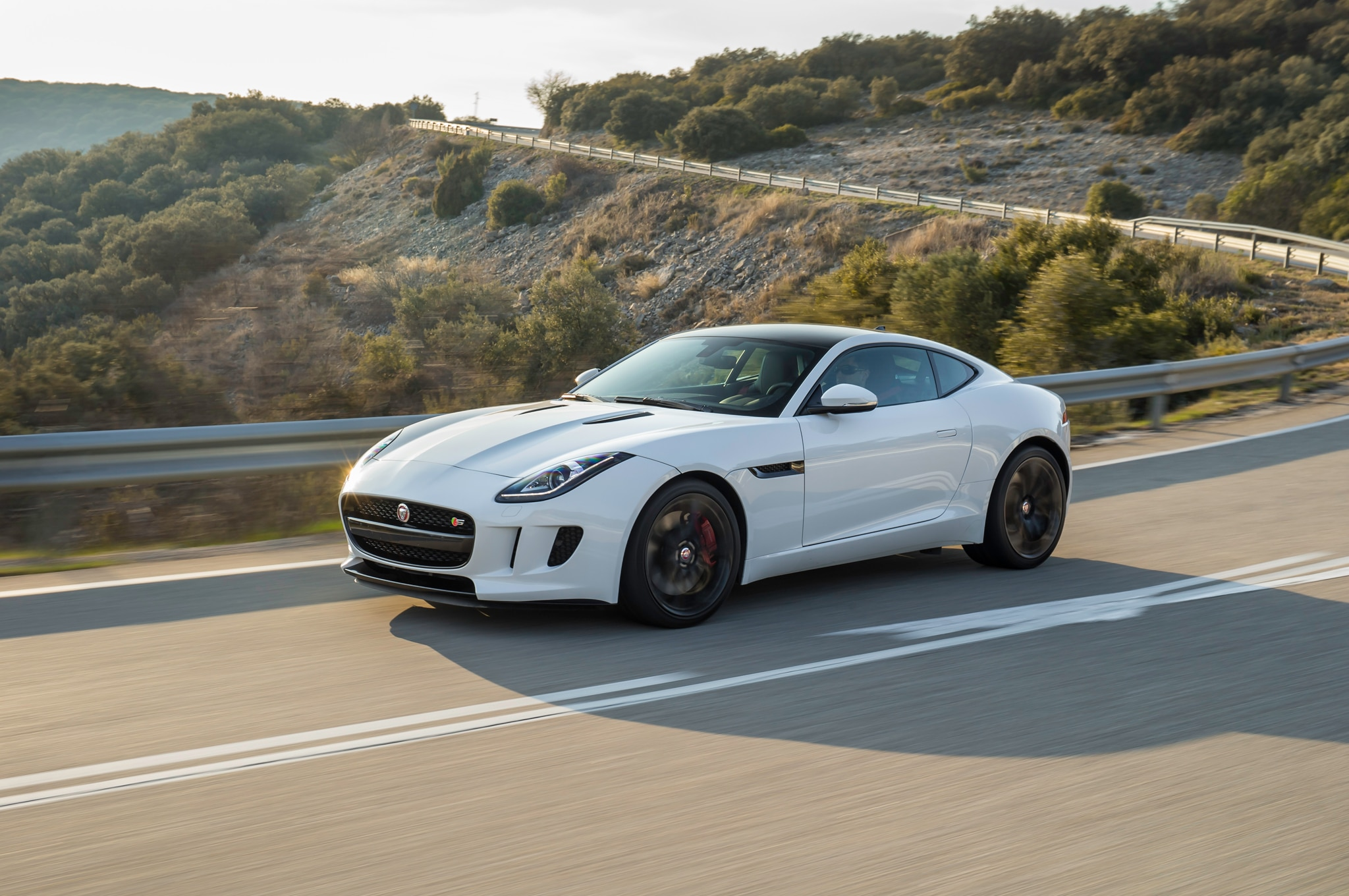 2015 Jaguar F Type S Front Three Quarters