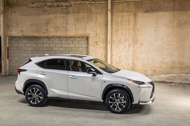 2015 Lexus NX 200t F Sport Side Profile1 660x438