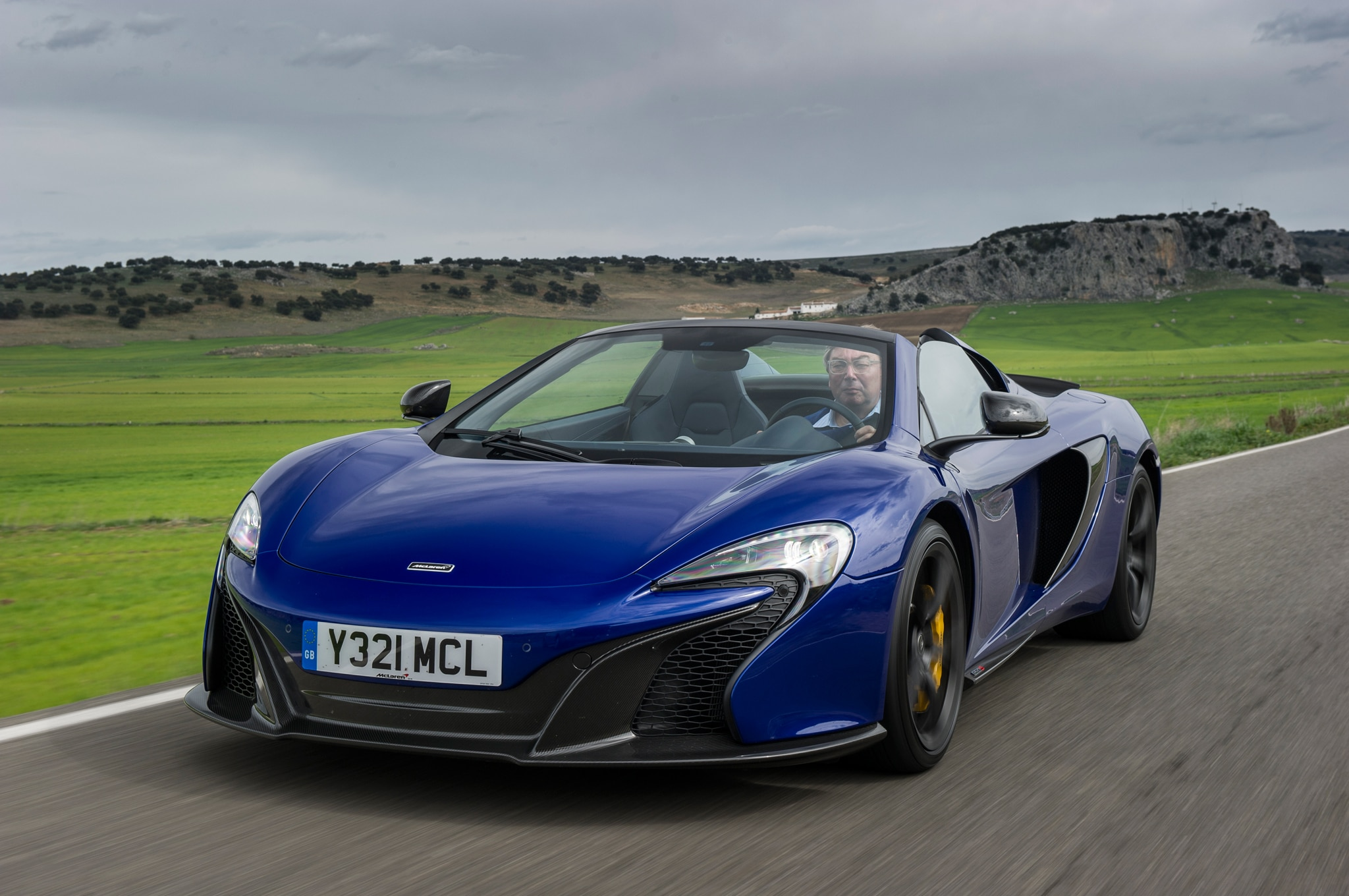 2015 Mclaren 650S Spider Front Three Quarters In Motion 031