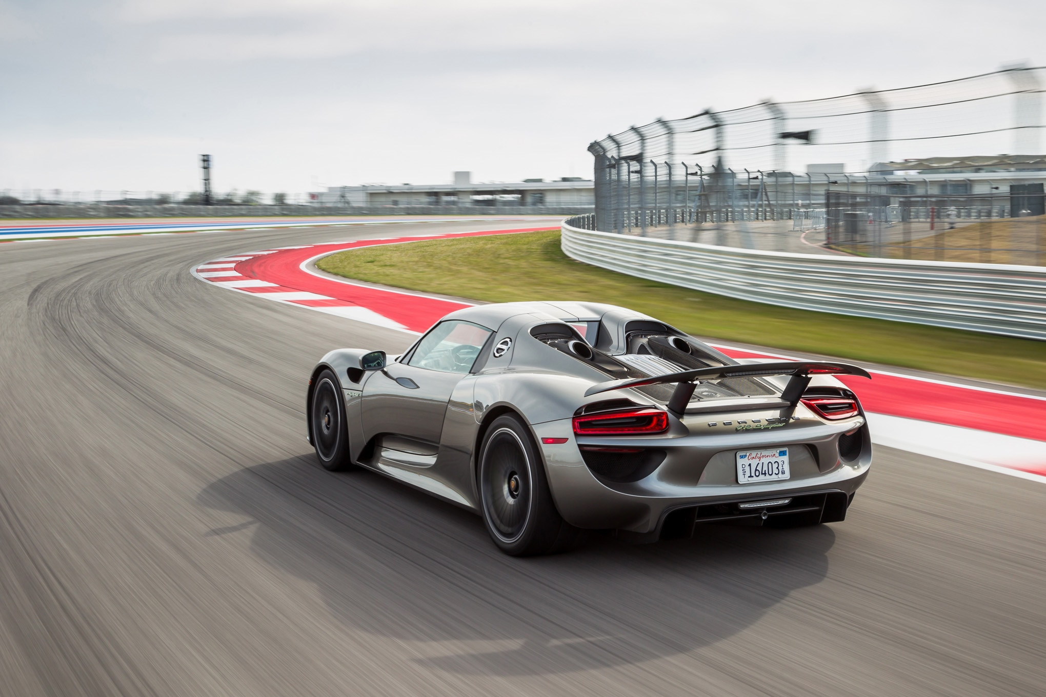 2015-Porsche-918-Spyder-rear-three-quarters-in-motion-02 Cozy Porsche 918 Spyder Concept Price Real Racing 3 Cars Trend