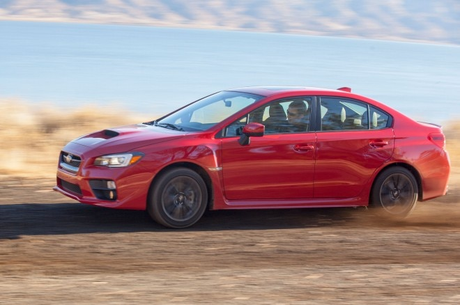2015 Subaru WRX Left Side View 21 660x438