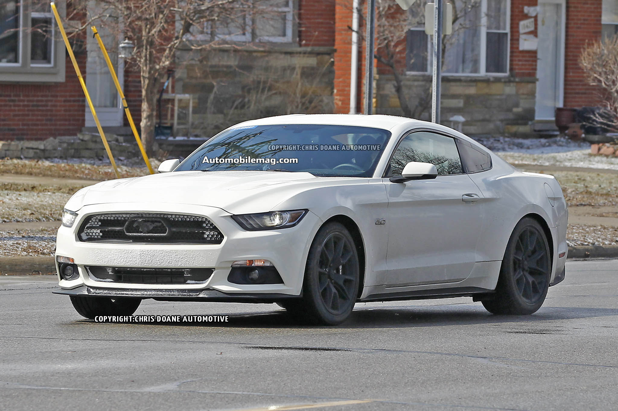 2015 Ford Mustang 50th Anniversary Edition Spied  Automobile Magazine