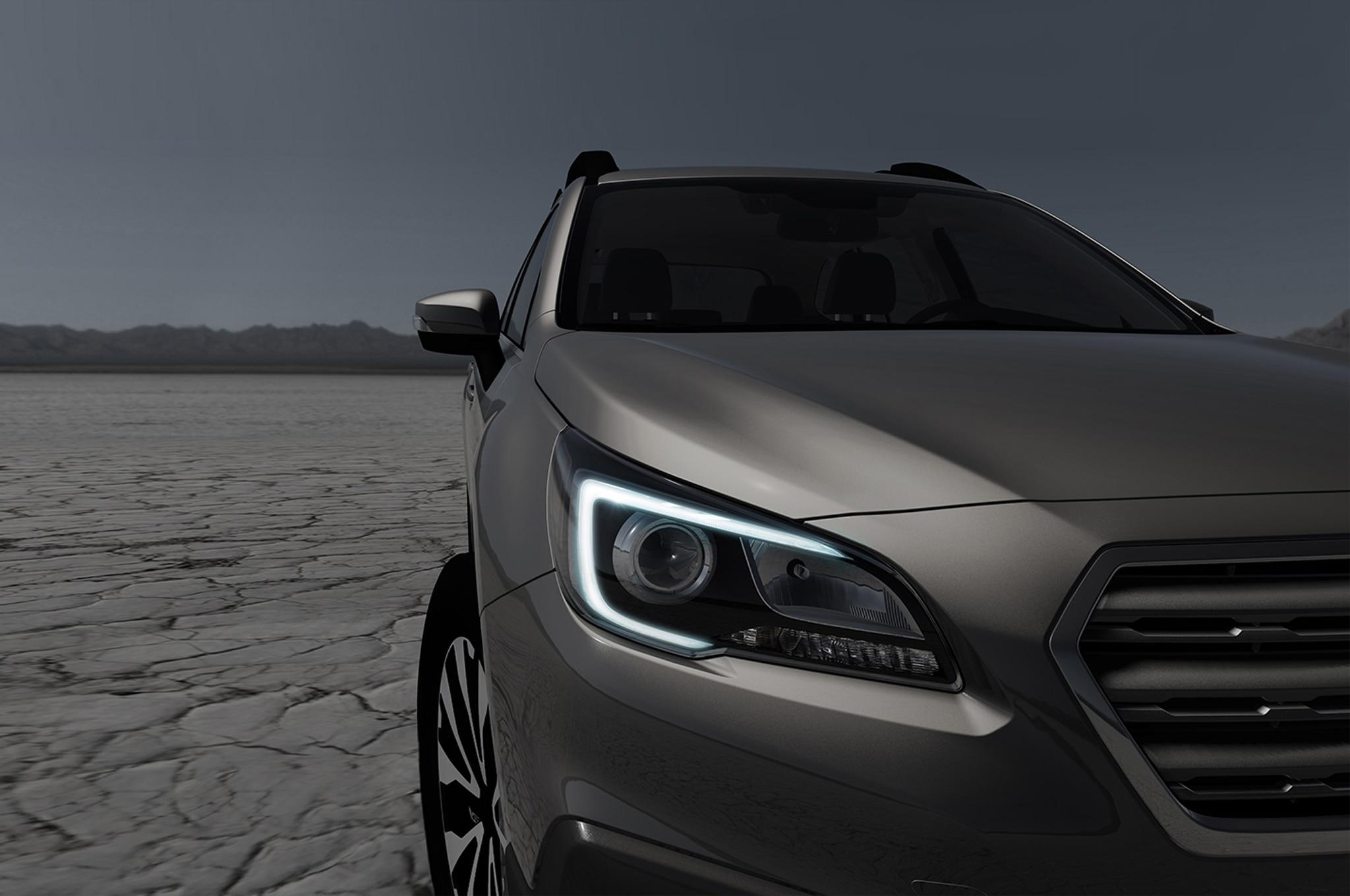 2015 Subaru Outback New York Teaser
