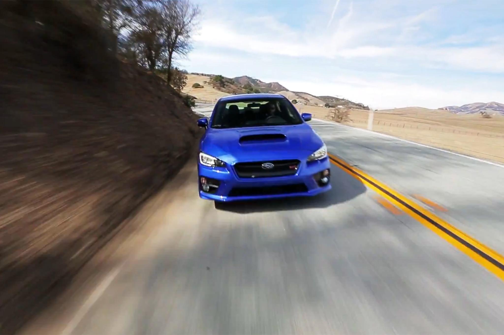 2015 Subaru Wrx Sti Front Video