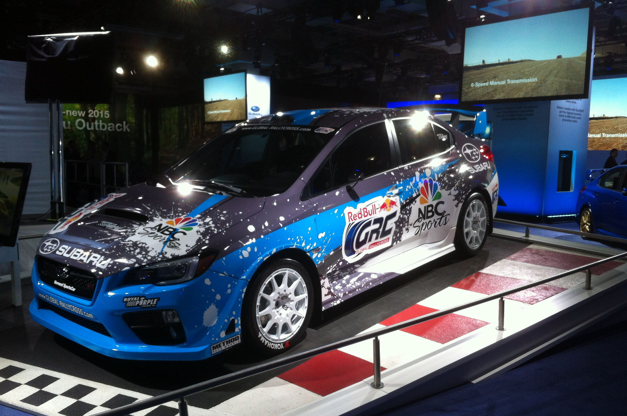 2015 Subaru Wrx Sti Rally Car 1 Front Three Quarter1