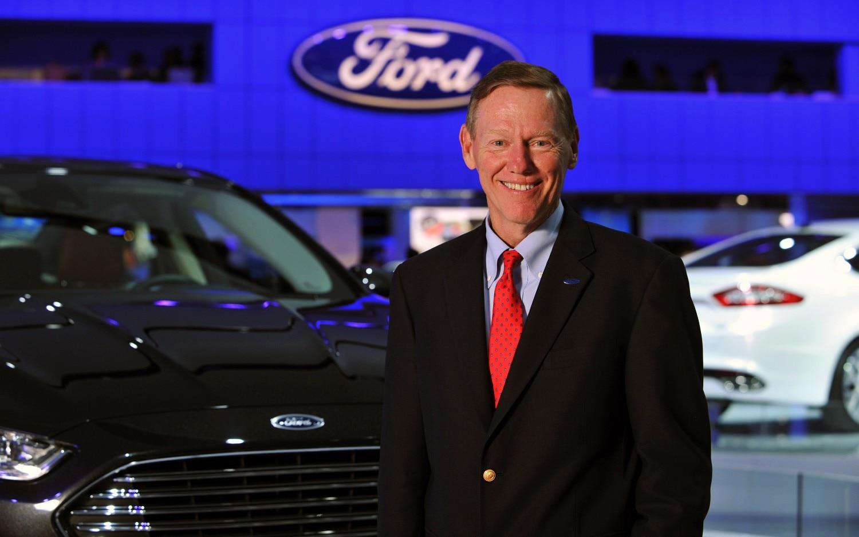 Alan Mulally At 2012 Detroit Auto Show1