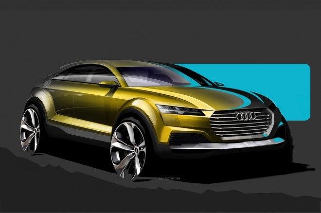 Audi Q4 Concept Sketch Front Three Quarters1 660x438
