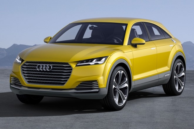 Audi TT Offroad Concept Front Side View Parked1 660x438