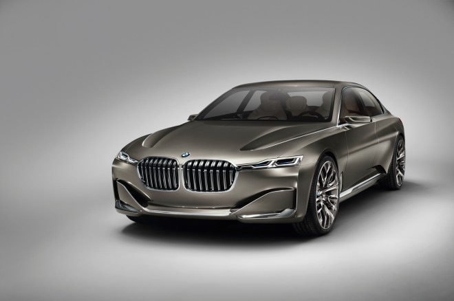 BMW Vision Future Luxury Concept Front Three Quarters1 660x438