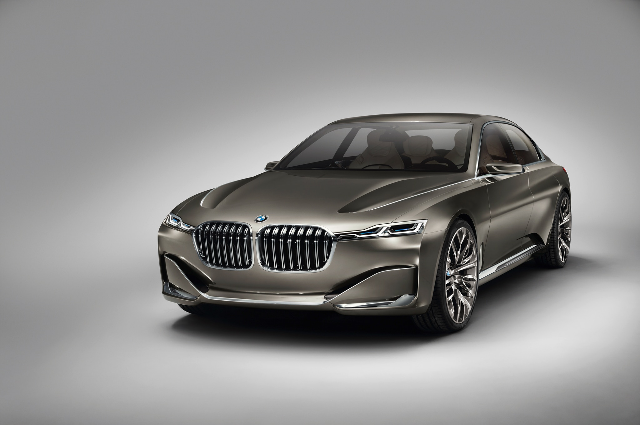 BMW Vision Future Luxury Concept Front Three Quarters1