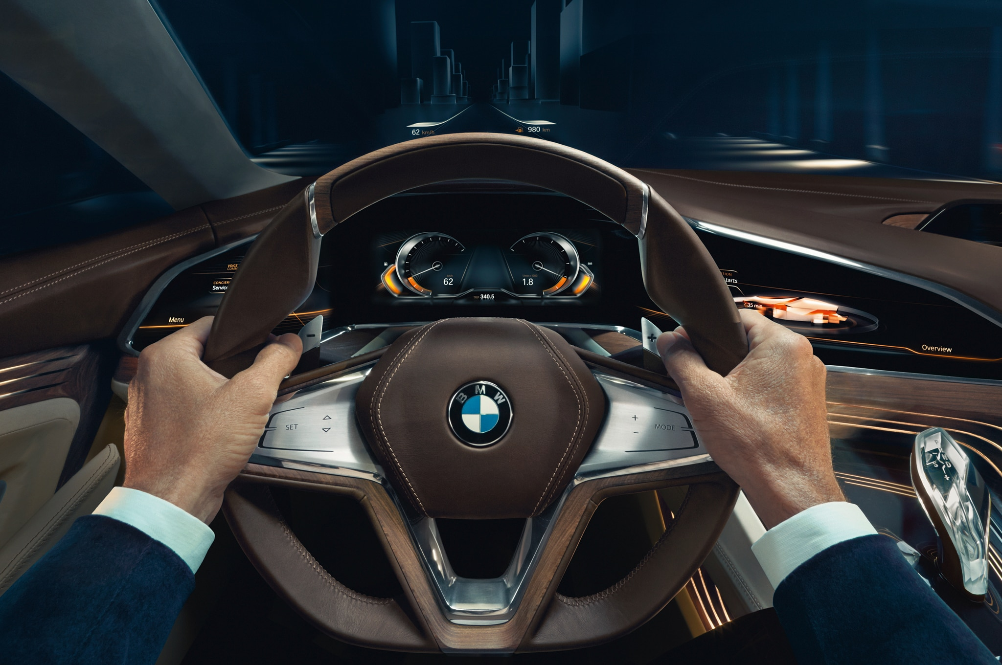 bmw vision future luxury concept shown in beijing automobile. Black Bedroom Furniture Sets. Home Design Ideas