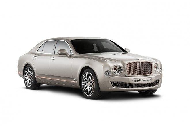 Bentley Hybrid Concept Front Three Quarter1 660x438