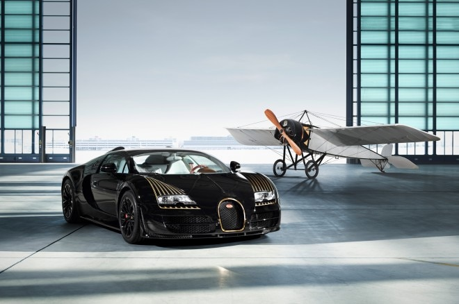 Bugatti Veyron Grand Sport Vitesse Legends Black Bess Front Three Quarter 031 660x438
