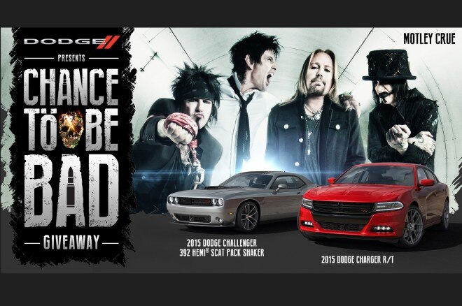 Dodge And Motley Crue Chance To Be Bad Giveaway1 660x438