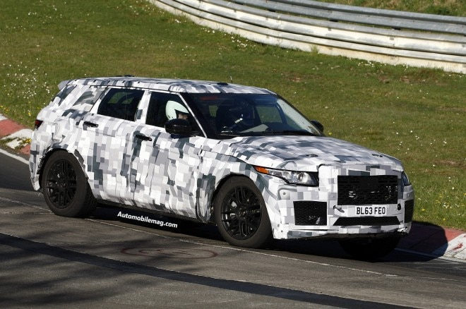 Jaguar C X17 Crossover Spied 3 Front Three Quarter1 660x438