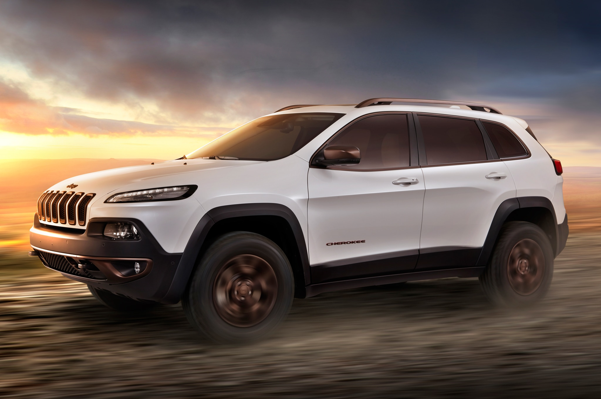 Jeep Cherokee Sageland Design Concept Side In Motion2
