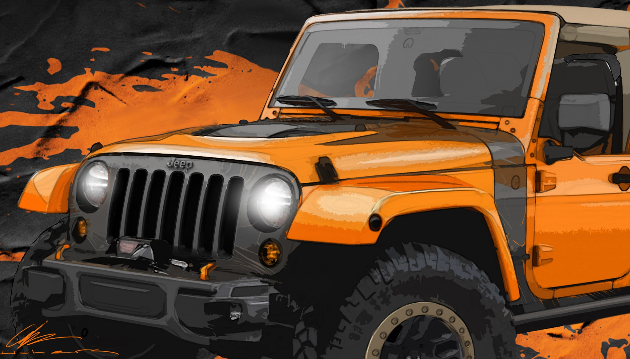 Jeep Wrangler MOJO Concept Teaser1
