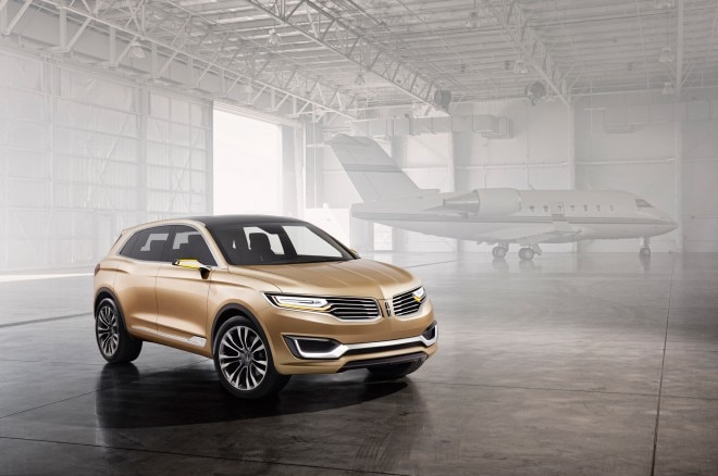 Lincoln MKX Concept Front Three Quarters 660x438